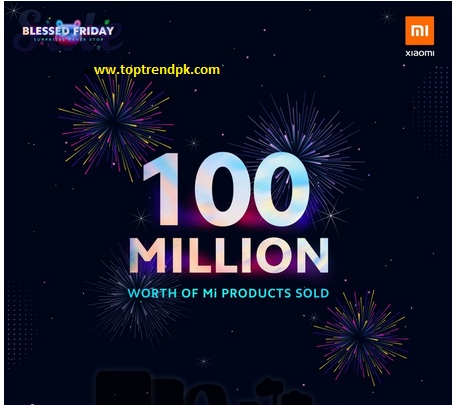 Photo of Blessed Friday Sale Xiaomi Pakistan Worth Rs. 100 Million