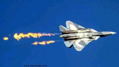 Photo of روس کا جدید ترین سکھوئ-57 طیارہ اپنی تجرباتی پرواز کے دوران گر کر تباہ ہو گیا۔