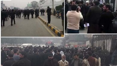 Photo of وکلاء نے لاہور دل کے ہسپتال کو میدان جنگ بنادیا