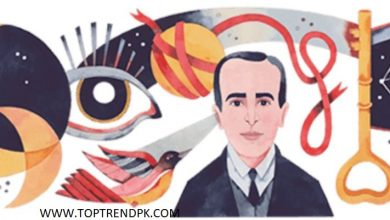 Photo of   Today the Google doodle celebrates Huidobro   on the 127th anniversary of his birth