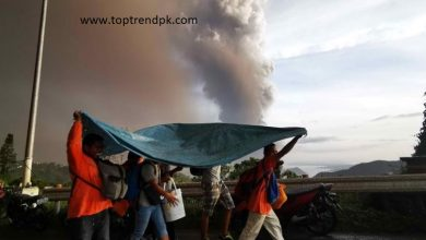Photo of Volcano eruptionreached in Philippine island of Luzon