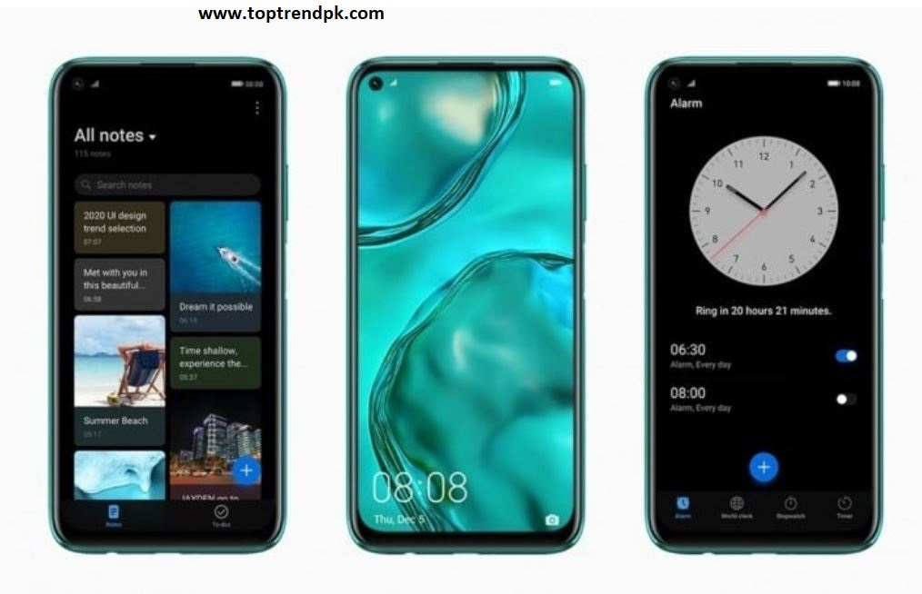 Huawei P40 Design and Display