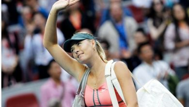 Photo of Maria Sharapova Retired From Tennis