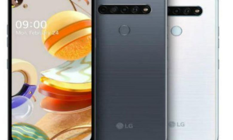 LG launches LG K61 LG K51S