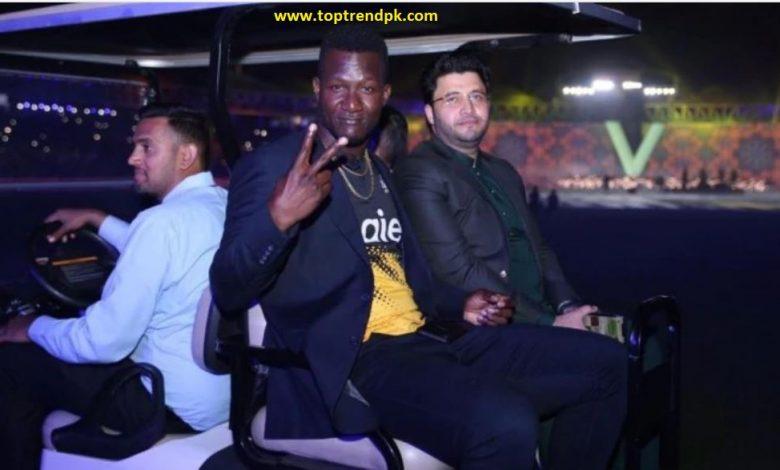 Former West Indies captain Darren Sammy becomes a Pakistani citizen
