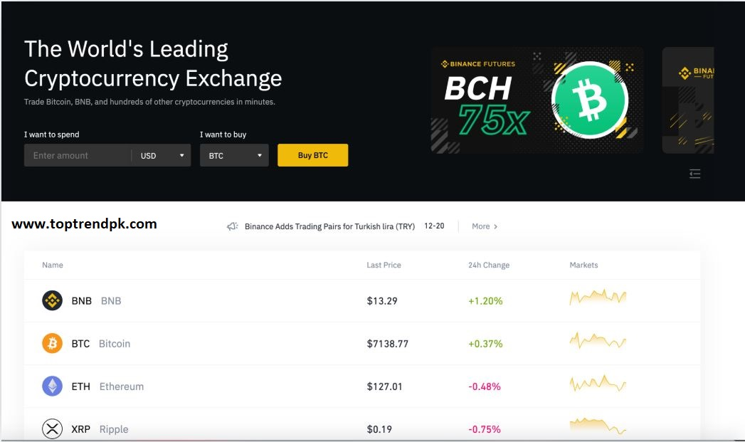 cryptocurrency coin market cap