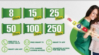 Photo of PTCL Internet Packages 2020 [Unlimited Internet]