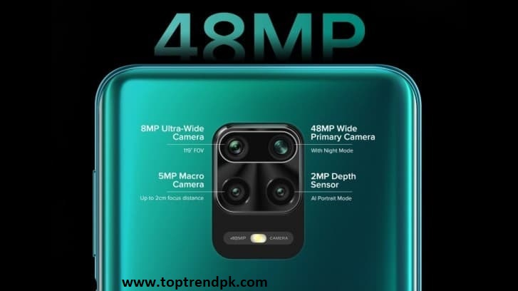 Redmi Note 9 Pro camera features