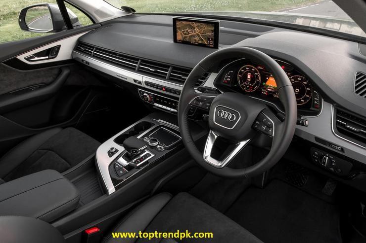 SUV Electric Interior