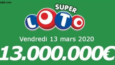 Photo of Super Loto on March 13 2020 results