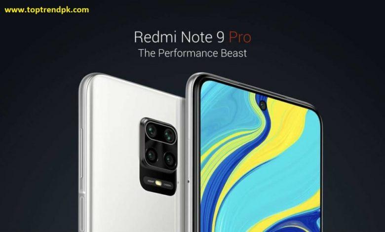 Redmi Note 9 Pro price in pakistan