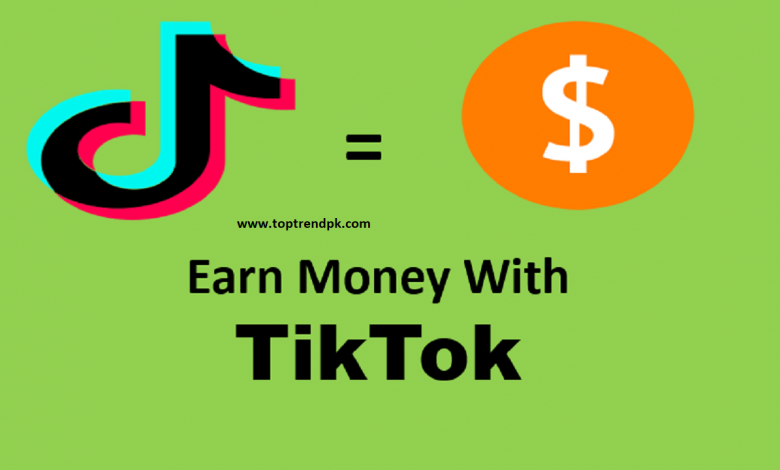 how to earn money from tik tok