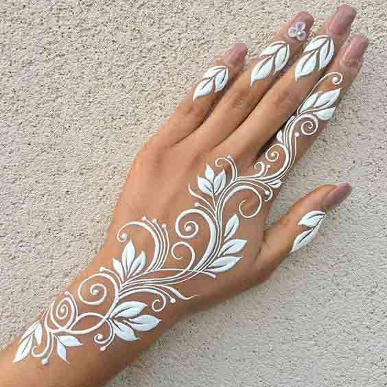 White Mehndi Designs 3 100 New Mehndi Designs Collection |Simple Mehndi Designs|
