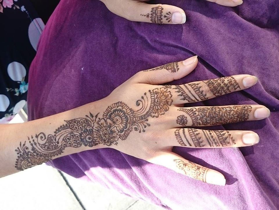 arabic mehndi back side Copy 100 New Mehndi Designs Collection |Simple Mehndi Designs|