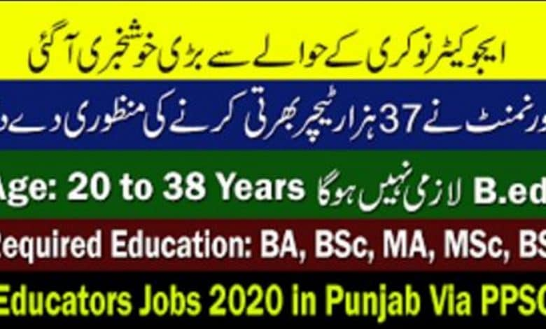 educators jobs 2020