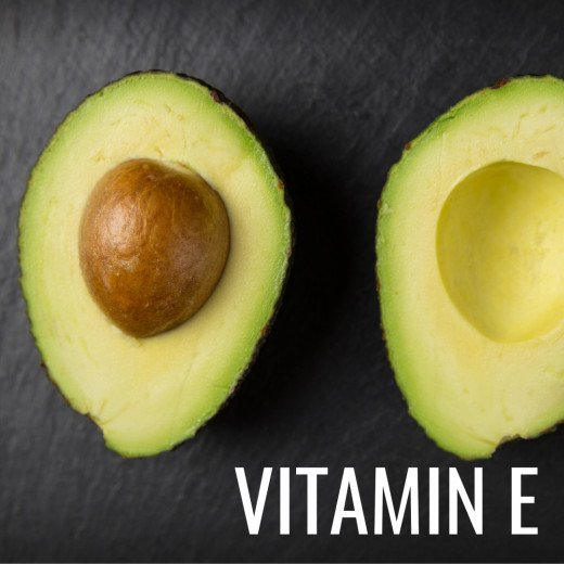 Vitamin E is a powerful antioxidant and can help your body repair damaged cells.