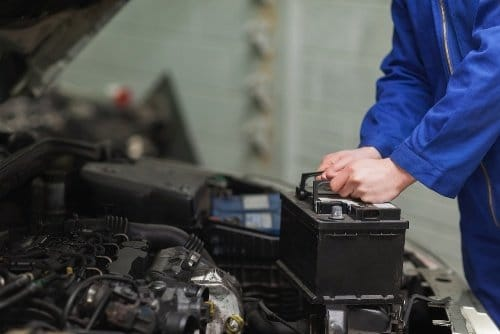 How do I disconnect a car battery?