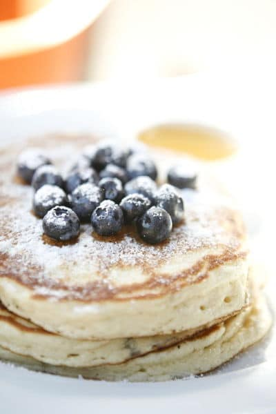 Special Cracker Barrel Style Pancakes Recipe