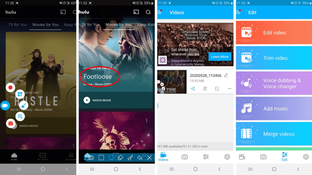 6 Record Screen on Your Android Phone[5 Powerful Screen Recorder]