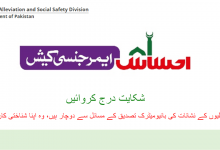 Photo of ehsaas emergency cash portal-nadra (check application status)