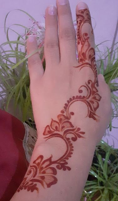 new mehndi design www.toptrendpk.com 1 100 New Mehndi Designs Collection |Simple Mehndi Designs|