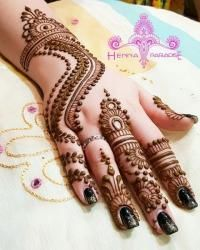 new mehndi design www.toptrendpk.com 2 100 New Mehndi Designs Collection |Simple Mehndi Designs|