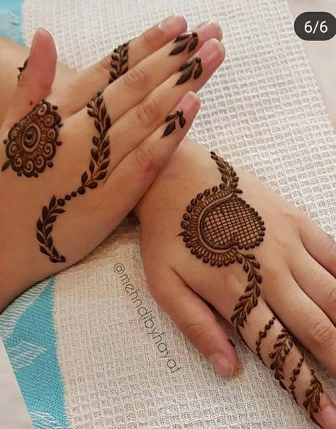 new mehndi design www.toptrendpk.com 100 New Mehndi Designs Collection |Simple Mehndi Designs|