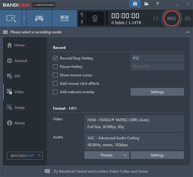 Game Recording Software for pc