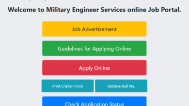 Photo of Latest Jobs In Announced Military Engineering Service| MES Jobs 2020