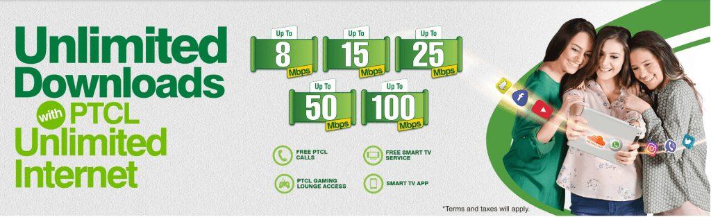 PTCl Internet packages 2020 1 PTCL Internet Packages 2020 [Unlimited Internet]