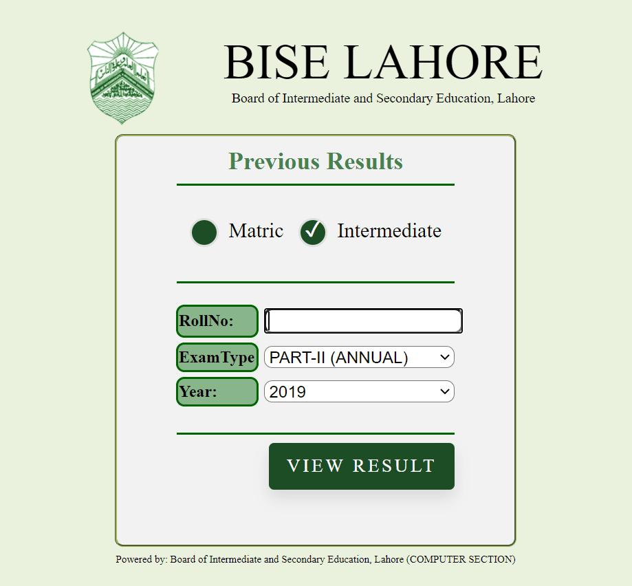 Bise Lahore Result 2020 | Matric Result 2020