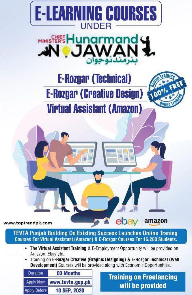 TEVTA E-Learning Online Courses