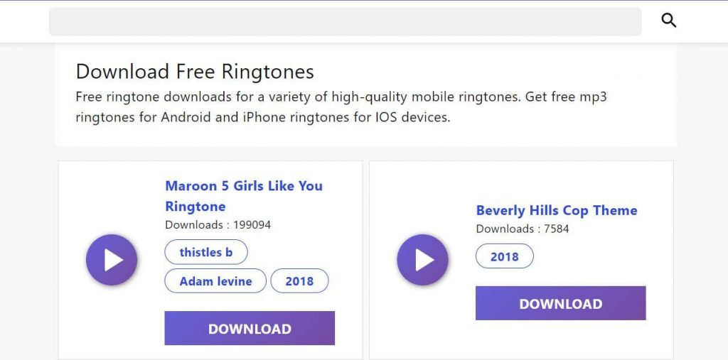 free ringtone download for android