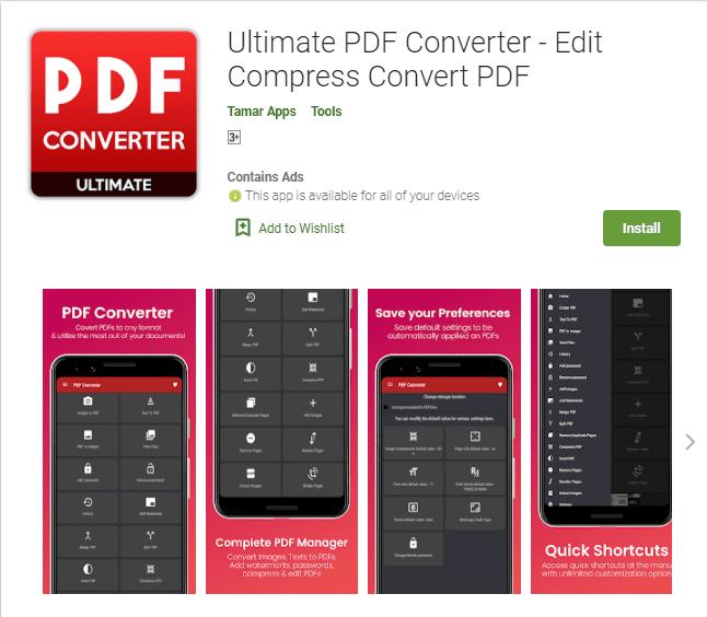 PDF Converter – Ultimate